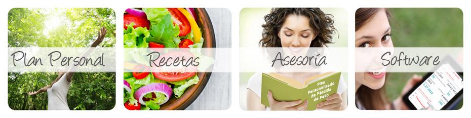 Plan personalizado de pérdida de peso