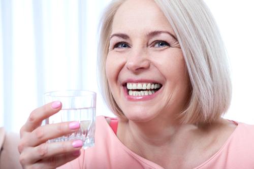 Mito: Agua para la piel seca